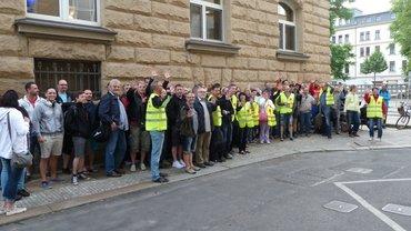 G&D Wertpapierdruckerei Leipzig bestreikt