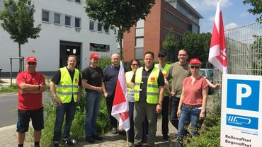 Streik WVD 9. Juni 2016