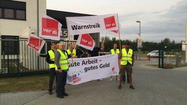 Druckzentrum Braunschweig Warnstreik