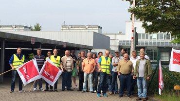 Axel Springer Ahrensburg: Warnstreik