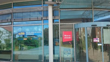 Warnstreik Heilbronner Stimme