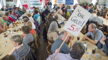 Streikversammlung München