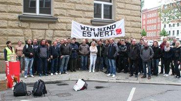 G&D Wertpapierdruckerei Leipzig Streik der zweiten Schicht