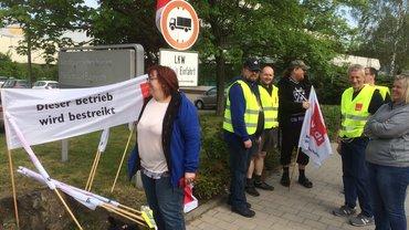 Streik beim Nordbayerischen Kurier