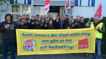 Warnstreik Augsburg