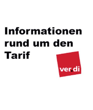 Informationen rund um den Tarif