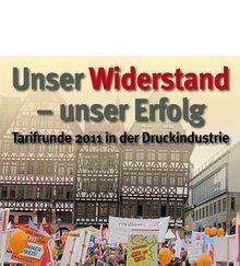 """Broschüre """"Unser Widerstand - unser Erfolg"""""""