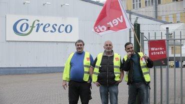 Streik Melitta-Cofresco in Minden