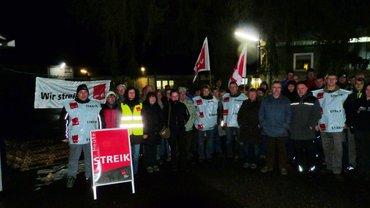Warnstreik STI Grebenhain 26. Februar 2015