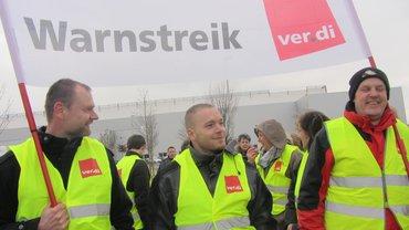Warnstreik Friedrich Freund GmbH