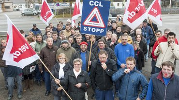 Protest bei Avery Zweckform