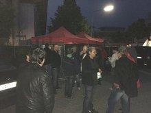Streik der Nachtschicht bei der FSD Mörfelden 10. Mai 2016