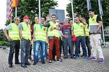 Rheinisch-Bergischen-Druckerei bestreikt