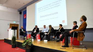 Diskussionsrunde Verlagskonferenz