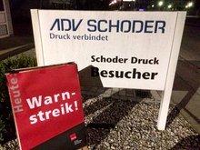 Warnstreik bei Schoder
