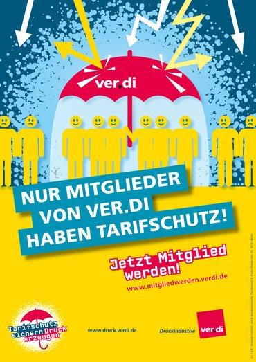 Plakat Tarifschutz