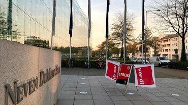 Streik DuMont-Zeitungsdruckerei