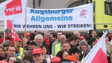 Gemeinsame Streikkundgebung Augsburg 1903_2014