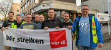 Am Mittwoch, den 17.10.2018 fand im Druckzentrum der Funke Mediengruppe in Essen der erste Warnstreik statt.