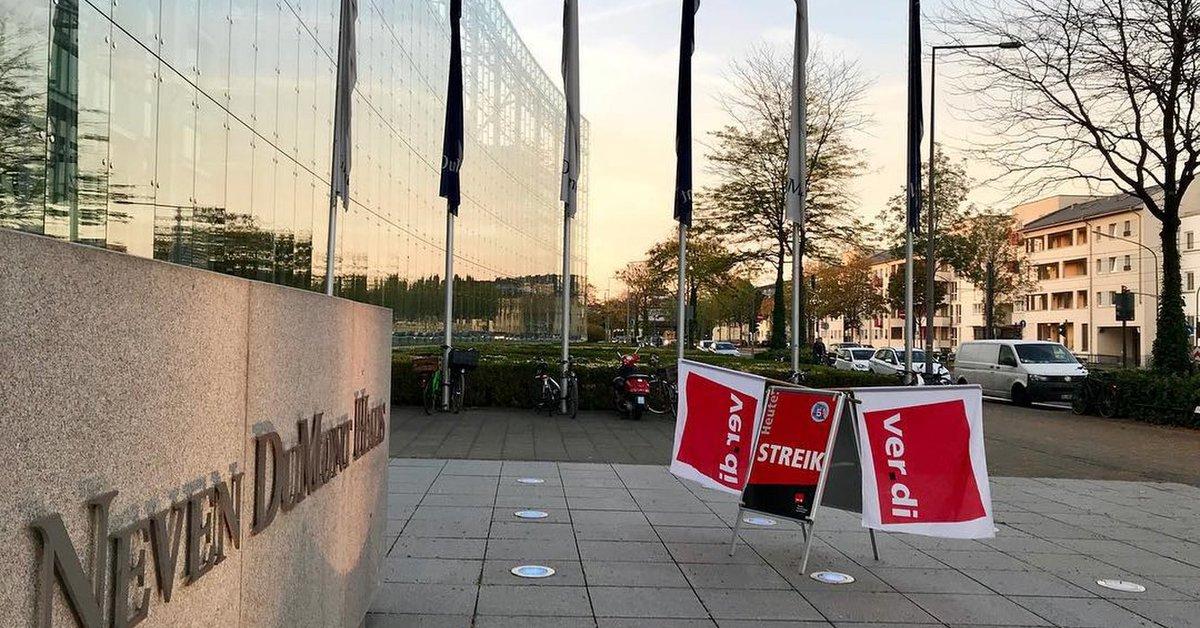 Warnstreik Köln