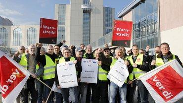 Streik bei Pelikan Falkensee