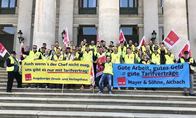 Streik in Augsburg