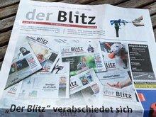 "Letzte Ausgabe des ""Blitz"""