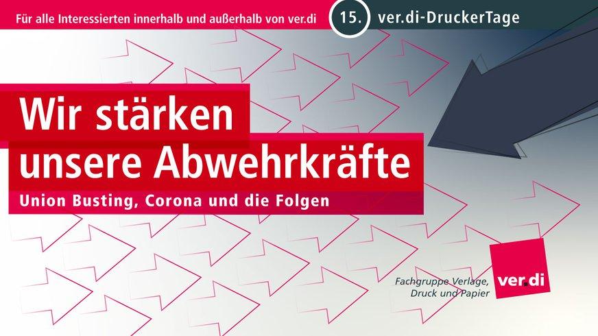 15. ver.di DruckerTage