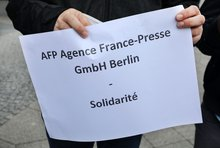 AFP Protest