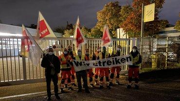 Die Draussenwerber streiken